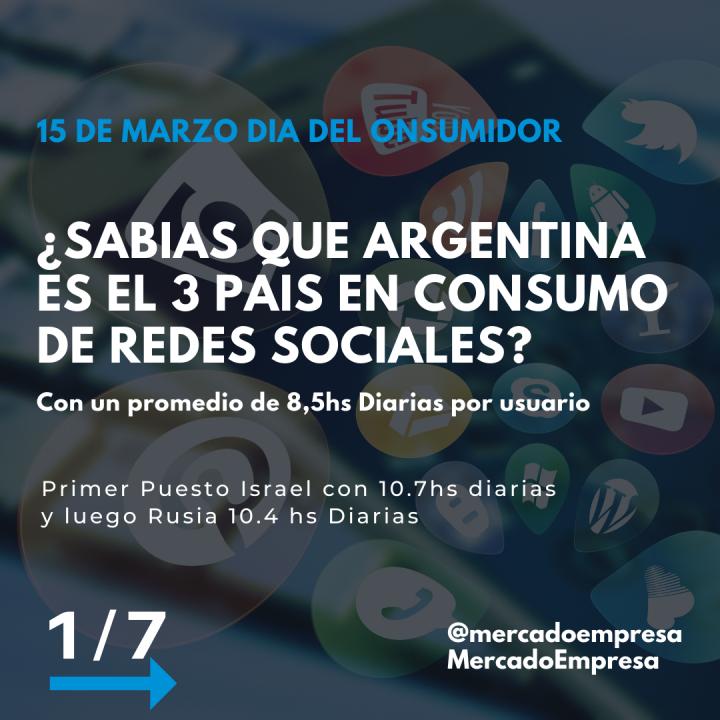 """""""15 DE MARZO: DÍA DEL CONSUMIDOR"""""""